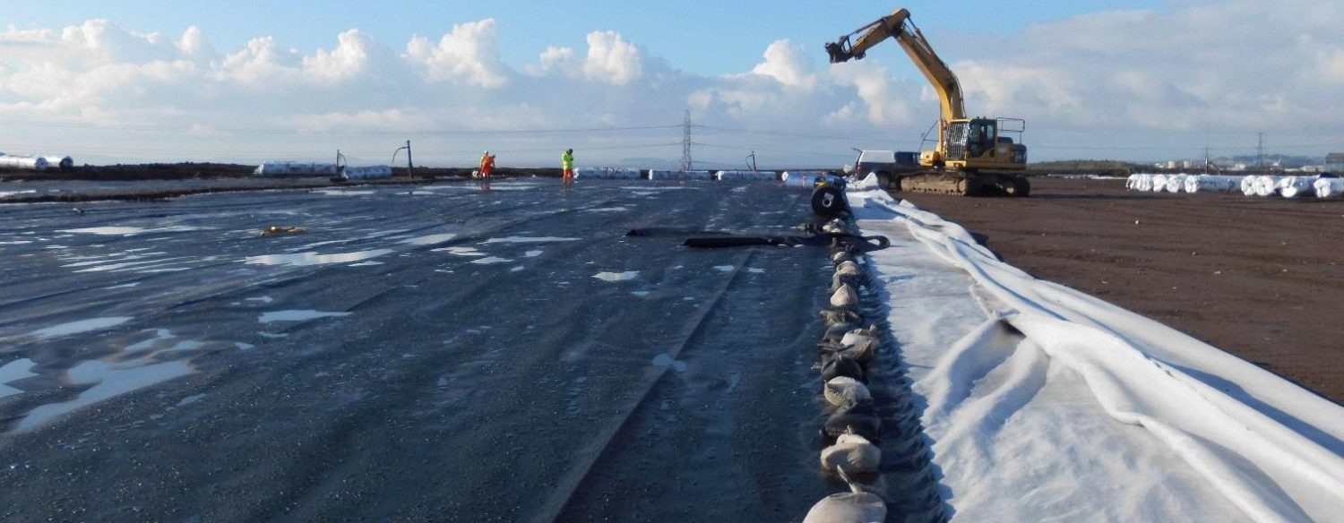 More landfill geosynthetics